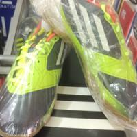 sepatu futsal adidas f50 abu-abu hijau original 100% size 42
