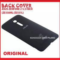 ASUS ZENFONE 2 5.5INCH ZE550ML ZE551ML BACK DOOR COVER BLACK 903384