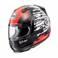 Auto Motor Arai Rapide IR Helm Full Face Splash Red