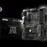 New Motherboard MSI Z370 PC PRO