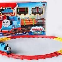 Mainan Kereta Api Thomas Cartoon Train 11 Pieces