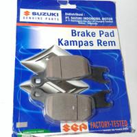 Kampas Rem Belakang Satria Fu Injeksi Gsx 150 Original Suzuki