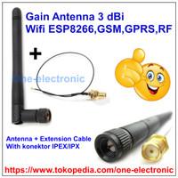 Gain Antena 3 Dbi Antenna Sinyal for ESP8266 Wifi,GSM GPRS Module