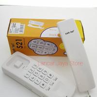 Telephone Sahitel S-21 (White & Black) - Hitam