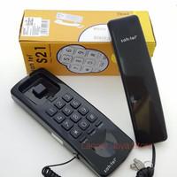 Cable Phone Resmi Sahitel S-21 (Hitam) Telepon Kabel Sahitel S21 Black