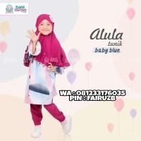 Baju Muslim Setelan Anak Celana Perempuan Branded Usia NB - 1thn