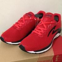Bergaransi Sepatu Running/Lari Specs Dual Enduro True Red 200505 Origi