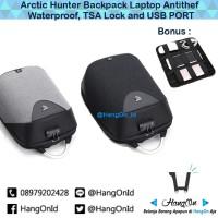 Tas Anti Maling Arctic Hunter Gadget Laptop TSA Lock Backpack ORIGINAL