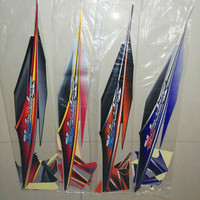 Striping Lis Bodi & Stiker Body Supra Fit New 2006 2007