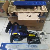 chainsaw mesin potong kayu bar 20in komplite hyundai chain saw