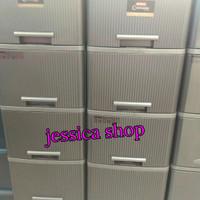 lemari plastik axis lion star susun 5 (instan courier only)