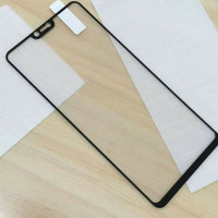 Tempered glass Full 3D OPPO F7 anti gores kaca curved warna