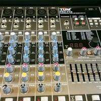 Mixer Audio TUM Pro-Fx6 Channel Usb Mp3