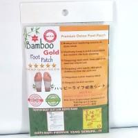 Koyo Kaki Bamboo Original Star 5 New Verified - Bamboo Gold Foot Patch