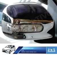 Toyota Agya Cover Spion JSL Krom/Mirror Cover Chrome/Aksesoris Agya