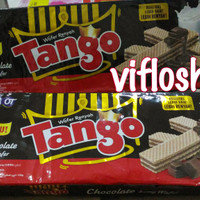 Wafer Tango (Vanila & Coklat) Kemasan 130 gram