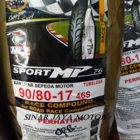 Ban Luar 90/80-17 fdr soft compound sport MP 76