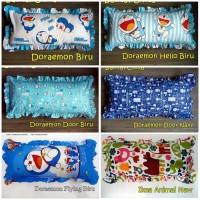 Sarung Bantal Cinta Motif Kartun Frozen Doraemon Cars Keroppi 105x57