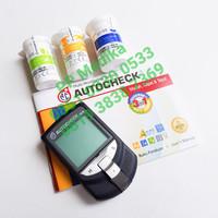 Autocheck 3 in 1 (Alat cek Gula Darah, Kolesterol & Asam Urat)