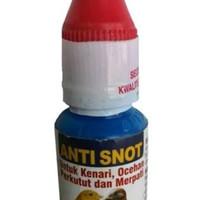 Anti snot dr edhi obat burung sakit mata berlendir bengkak lesu