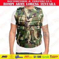 Rompi Motor / Pelindung Dada / Body Protector ARMY