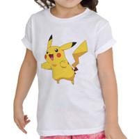 Kaos Baju Tshirt Anak Pikacu Pokemon Go bry006