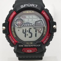 jam tangan digitalsporty remaja dewasa water resist visica skmei casio