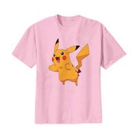 Kaos Baju Tshirt Anak Pikachu Pokemon Go