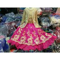 baju muslim gamis anak perempuan, baju nari/tari anak, baju india anak
