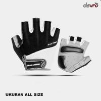 Glove Sarung Tangan Sepeda atau Motor Half Finger All Size