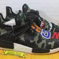 Sepatu Adidas NMD Human Race x Bape Aunthentic