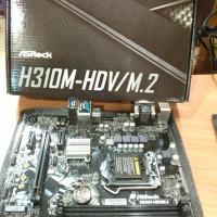 ASRock H310M-HDV/M.2 LGA 1151 (300 Series) Intel H310/DDR4/Coffee Lake