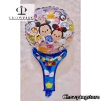 Balon Foil Pentungan Tsum-Tsum Mickey Minnie