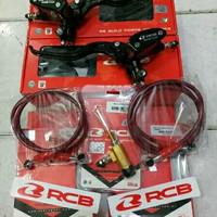kopling hidrolik full set rcb master rem selang rem racing boy