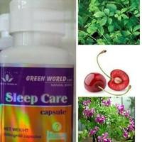 SLEEP CARE CAPSULE GREEN WORLD / OBAT HERBAL TIDUR /AMAN / INSOMNIA