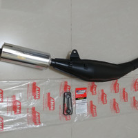 Knalpot Racing Satria 2T Hiu Lumba Original AHM Malaysia 100%