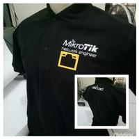 Polo shirt-Tshirt-Kaos Kerah MIKROTIK NETWORK ENGINEER Keren
