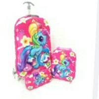 BGC Disney My Pinkie Little Pony Best Friends Koper Set Troley T Samur
