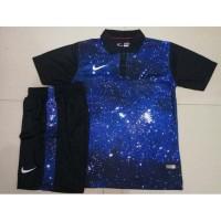 Setelan Futsal - Baju Sepakbola Nike Galaxy Biru