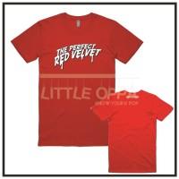 KAOS T-SHIRT KPOP RED VELVET THE PERFECT RED VELVET PREMIUM COTTON