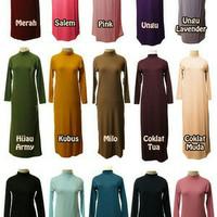 Manset Gamis Dalaman baju muslim All size fit to xl murmer