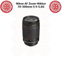Lensa Nikon AF 70-300mm F4-5,6G Zoom-Nikkor ; Nikon Telephoto 70-300mm