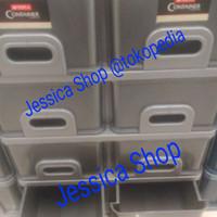 lemari plastik twin inova lion star susun 4 (8 laci) (instan courir)
