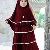 Terlaris Maxi Lin Marun Fashion Anak Gamus Anak Baju Muslim Anak