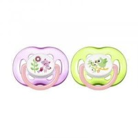Avent Pacifier Free Flow 18m+ Girls