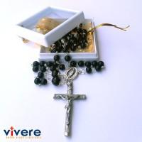 Rosario Batu Alam Black Onyx 6 mm