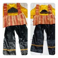 Baju adat anak baju aceh tari saman anak M-L Lk/Pr