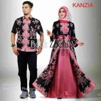 Batik Couple Kanzia Sarimbit Modern Gamis Murah