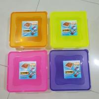 Tempat Kue Lapis / Bolu / Bika Ambon / Kotak Makanan Serbaguna 23 cm