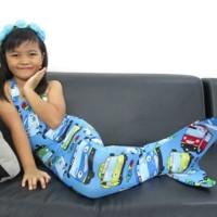 Baju Kostum Renang Mermaid / Putri Duyung Anak Motif TAYO